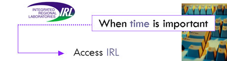 When time is important, access IRL